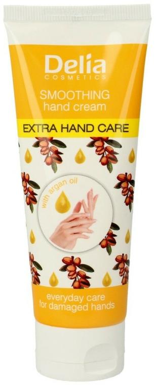 Cremă cu ulei de argan pentru mâini - Delia Extra Hand Care — Imagine N1