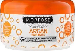 Parfumuri și produse cosmetice Mască pentru părul deteriorat și vopsit - Morfose Buble Argan Hair Mask