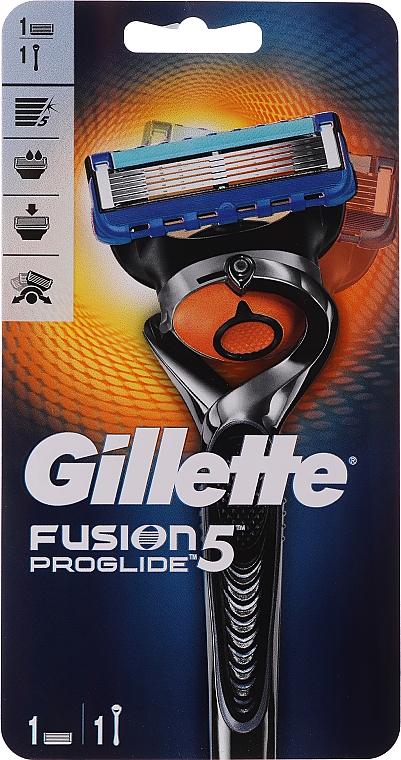 Aparat de ras cu o casetă interschimbabilă - Gillette Fusion ProGlide Flexball — Imagine N1