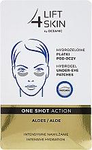 Parfumuri și produse cosmetice Patch-uri sub ochi - Lift4Skin Hydrogel Under-Eye Patches Aloe
