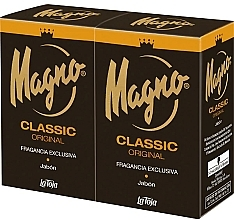 Parfumuri și produse cosmetice Set - Marine Magno Classic Bar Soap (soap/2x125g)