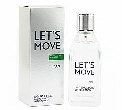 Parfumuri și produse cosmetice Benetton Let's Move - Apă de toaletă