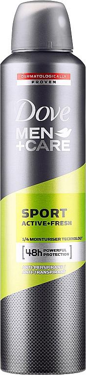 Antiperspirant pentru bărbați - Dove Men+Care Sport Active Fresh — Imagine N3