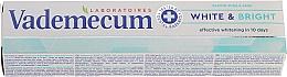 Parfumuri și produse cosmetice Pastă de dinți - Vademecum Pro Vitamin Whitening Toothpaste
