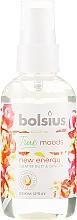 """Parfumuri și produse cosmetice Spray aromatic """"Grapefruit și ghimbir"""" - Bolsius Room Spray True Moods New Energy"""