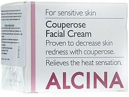Parfumuri și produse cosmetice Cremă anti-cuperoză pentru față - Alcina S Couperose Facial Cream