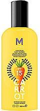 Parfumuri și produse cosmetice Cremă de protecție solară pentru bronz intens - Mediterraneo Sun Carrot Sunscreen Dark Tanning SPF15