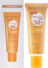 Parfumuri și produse cosmetice Emulsie pentru protecție solară - Bioderma Photoderm Max Spf 50+ Ultra-Fluide Teinte