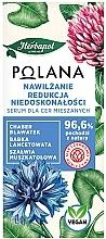 Parfumuri și produse cosmetice Ser hidratant, reducerea imperfecțiunilor - Polana