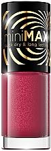 Parfumuri și produse cosmetice Lac de unghii - Eveline Cosmetics Mini Max