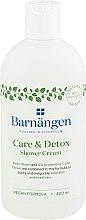 """Parfumuri și produse cosmetice Cremă-gel pentru duș și baie """"Îngrijire și detoxifiere"""" - Barnangen Care & Detox Shower Cream"""