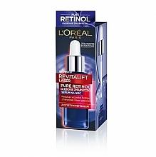 Parfumuri și produse cosmetice Ser de noapte antirid pentru față - L'Oreal Paris Revitalift Filler Serum
