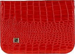 Parfumuri și produse cosmetice Husă pentru instrumente de manichiură, CS-10, roșie - Staleks Case For Manicure Tools