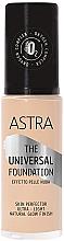 Parfumuri și produse cosmetice Fond de ten - Astra Make-up The Universal Foundation