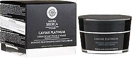 Parfumuri și produse cosmetice Cremă de față cu efect anti-age - Natura Siberica Caviar Platinum Intensive Rejuvenating Night Face Cream