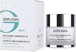 Parfumuri și produse cosmetice Cremă hidratantă pentru tenul uscat - Gigi Bioplasma Moist Dry SPF-20