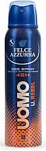 Parfumuri și produse cosmetice Deodorant - Felce Azzurra Deo Rebel