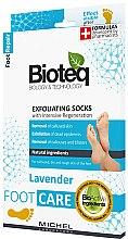 Parfumuri și produse cosmetice Șosete exfoliante - Bioteq Exfoliating Socks Lavender