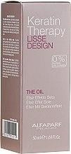 Parfumuri și produse cosmetice Ulei cu keratină pentru păr - Alfaparf Lisse Design Keratin Therapy Oil