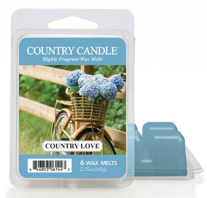 Ceară aromată - Country Candle Country Love Wax Melts — Imagine N1