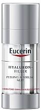 Parfumuri și produse cosmetice Ser peeling de noapte - Eucerin Hyaluron-Filler Peeling & Serum Night