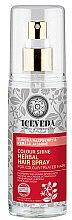 Parfumuri și produse cosmetice Spray pentru păr - Natura Siberica Iceveda Tundra Raspberry&Kerala Jasmine Color Shine Herbal Hair Spray
