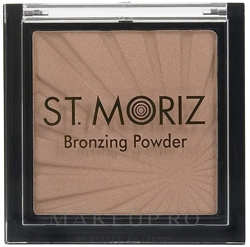 Bronzer pentru față - St. Moriz Bronzing Powder (9 g) — Imagine Bronzed Beauty