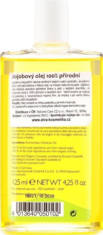 Ulei de jojoba - Alva Organic Jojoba Oil — Imagine N2