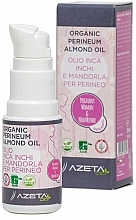 Parfumuri și produse cosmetice Ulei organic de migdale, pregătire pentru naștere - Azeta Bio Organic Perineum Almond Oil