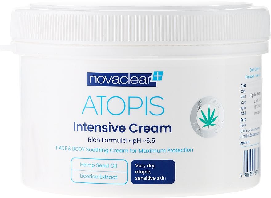 Cremă pentru față și corp - Novaclear Atopis Intensive Cream — Imagine N4