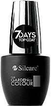 Parfumuri și produse cosmetice Top pentru unghii - Silcare The Garden of Colour Top Coat 7days