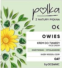 Parfumuri și produse cosmetice Cremă de față - Polka Oat Face Cream