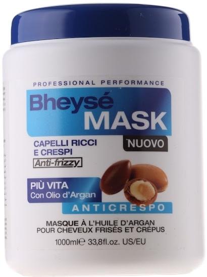 Mască cu ulei argan pentru păr ondulat - Renee Blanche Bheyse Maschera Capelli Ricci e Crespi