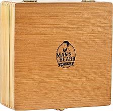 Parfumuri și produse cosmetice Set pentru bărbierit - Man's Beard Razor Wood Brown Box