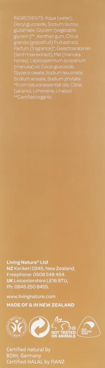 Gel de curățare pentru pielea normală și grasă - Natural Being Manuka Cleanser — Imagine N3
