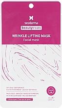 Parfumuri și produse cosmetice Mască-lifting din țesătură anti-îmbătrânire - SesDerma Laboratories Beauty Treats Wrinkle Lifting Mask
