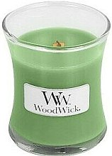 Parfumuri și produse cosmetice Lumânare aromatică în pahar - WoodWick Candle Hemp And Ivy