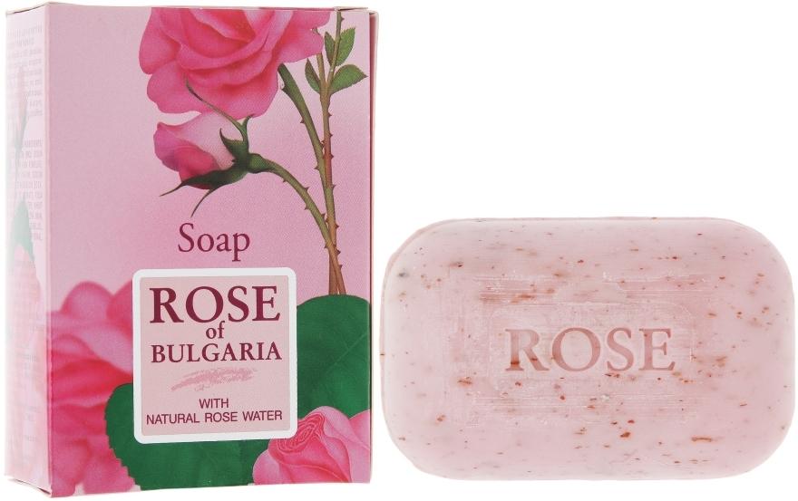 Săpun natural cu apă de trandafiri - BioFresh Rose of Bulgaria Soap — Imagine N1