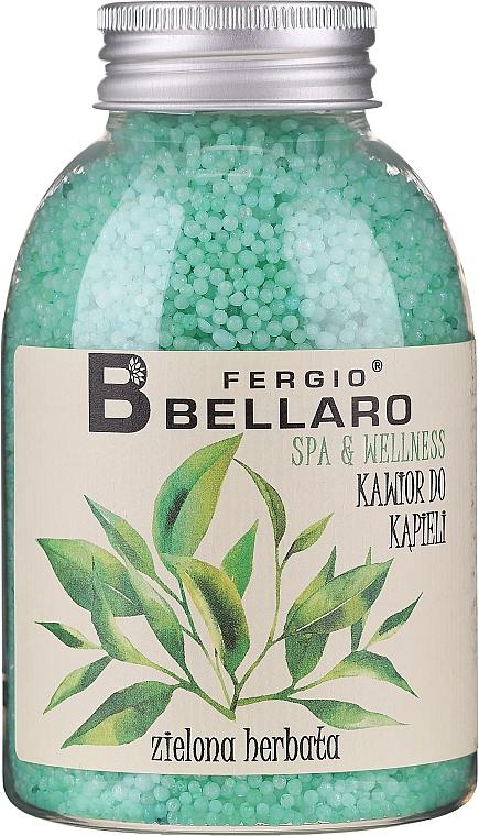 """Bile efervescente pentru baie """"Ceai verde"""" - Fergio Bellaro Green Tea Bath Caviar — Imagine N1"""