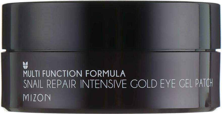 Patch-uri regenerante pentru ochi - Mizon Snail Repair Intensive Gold Eye Gel Patch — Imagine N3