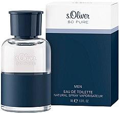 Parfumuri și produse cosmetice S.Oliver So Pure Men - Apă de toaletă