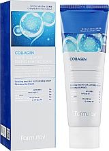 Parfumuri și produse cosmetice Spumă de curățare cu colagen, anti-îmbătrânire hidratantă - FarmStay Collagen Water Full Moist Deep Cleansing Foam