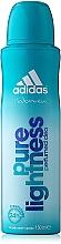 Parfumuri și produse cosmetice Adidas Pure Lightness - Deodorant spray