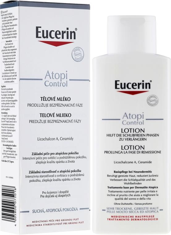 Loțiune de corp pentru dermatita atopică - Eucerin AtopiControl Body Care Lotion — Imagine N1