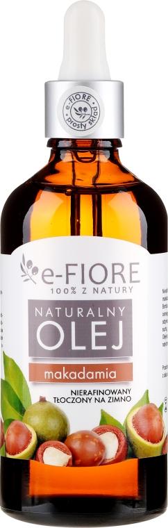 Ulei de Macadamia - E-Fiore Natural Oil — Imagine N3