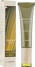 Parfumuri și produse cosmetice Cremă cu extract din rădăcină de in din Noua Zeelandă pentru zona ochilor - The Saem Urban Eco Harakeke Root Eye Cream Tube Type