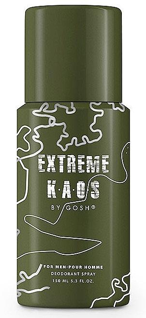 Gosh Extreme Kaos For Men - Spray deodorant