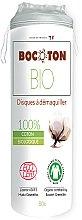 Parfumuri și produse cosmetice Discuri din bumbac, 80 bucăți - Bocoton