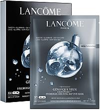 Parfumuri și produse cosmetice Mască pentru zona ochilor, 4 buc - Lancome Genifique Hydrogel Melting Eye Mask
