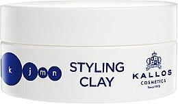 Parfumuri și produse cosmetice Argilă pentru păr - Kallos Cosmetics KJMN Styling Clay